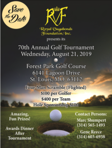 2019 Royal Vagabonds Foundation Golf Flier