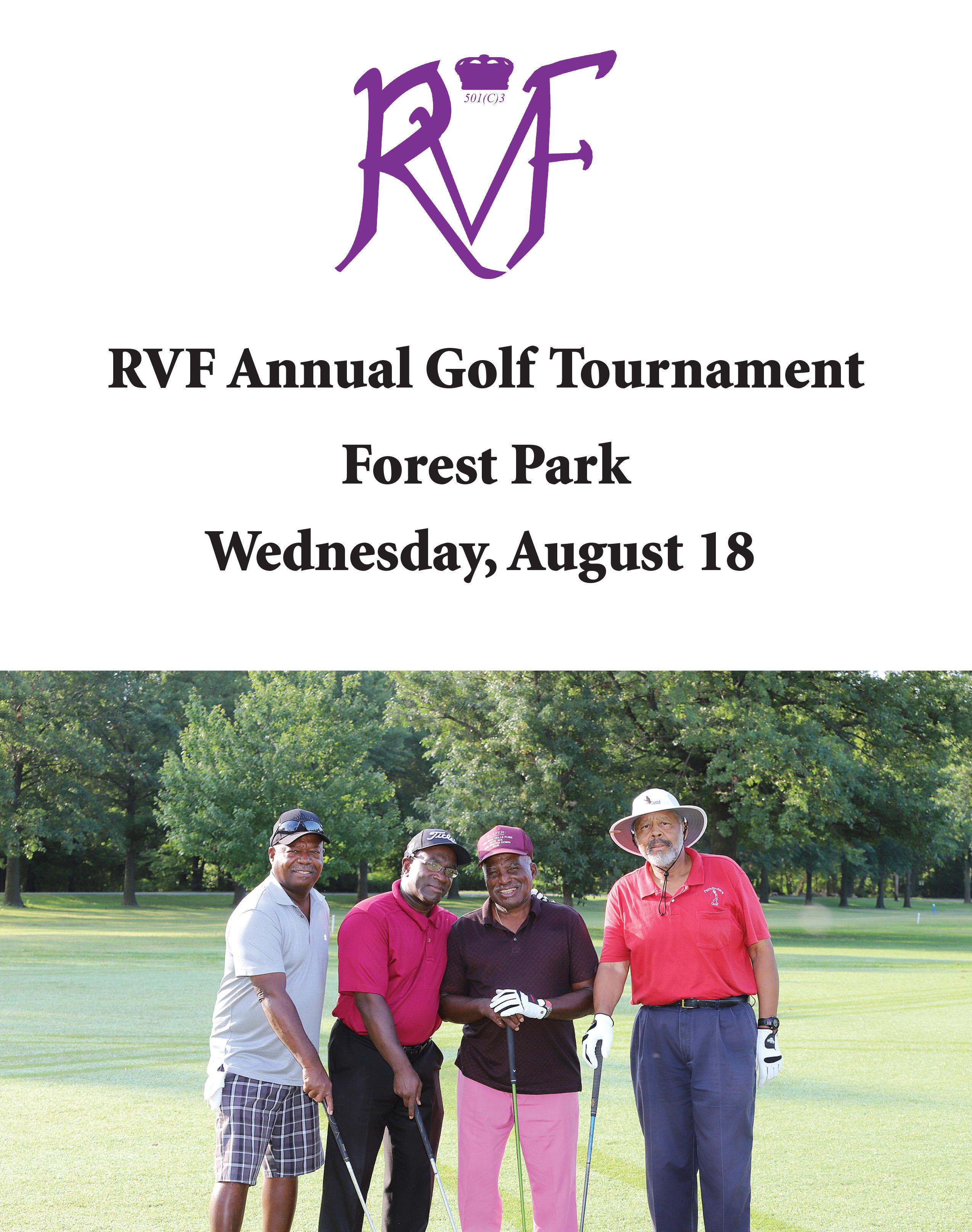 RVF 2021 Golf Tournament